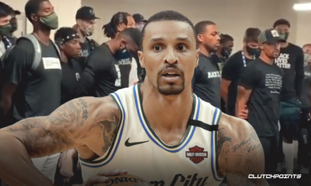 WATCH: George Hill, Sterling Brown Deliver Statement Following Game 5 Boycott