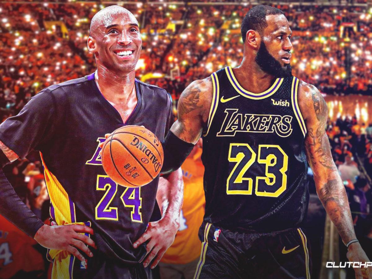 Lakers video: LeBron James sports black Kobe Bryant jersey