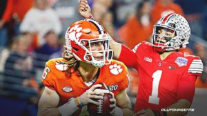 Trevor Lawrence Justin Fields College Football