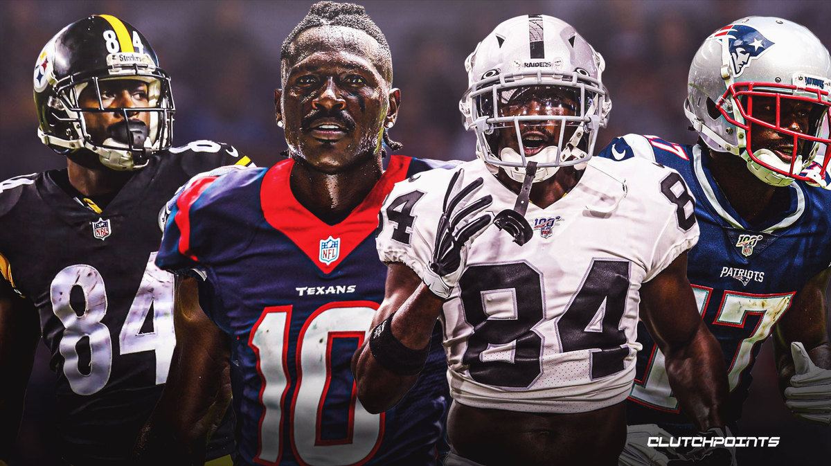 Antonio Brown draws interest from Texans, several NFL teams
