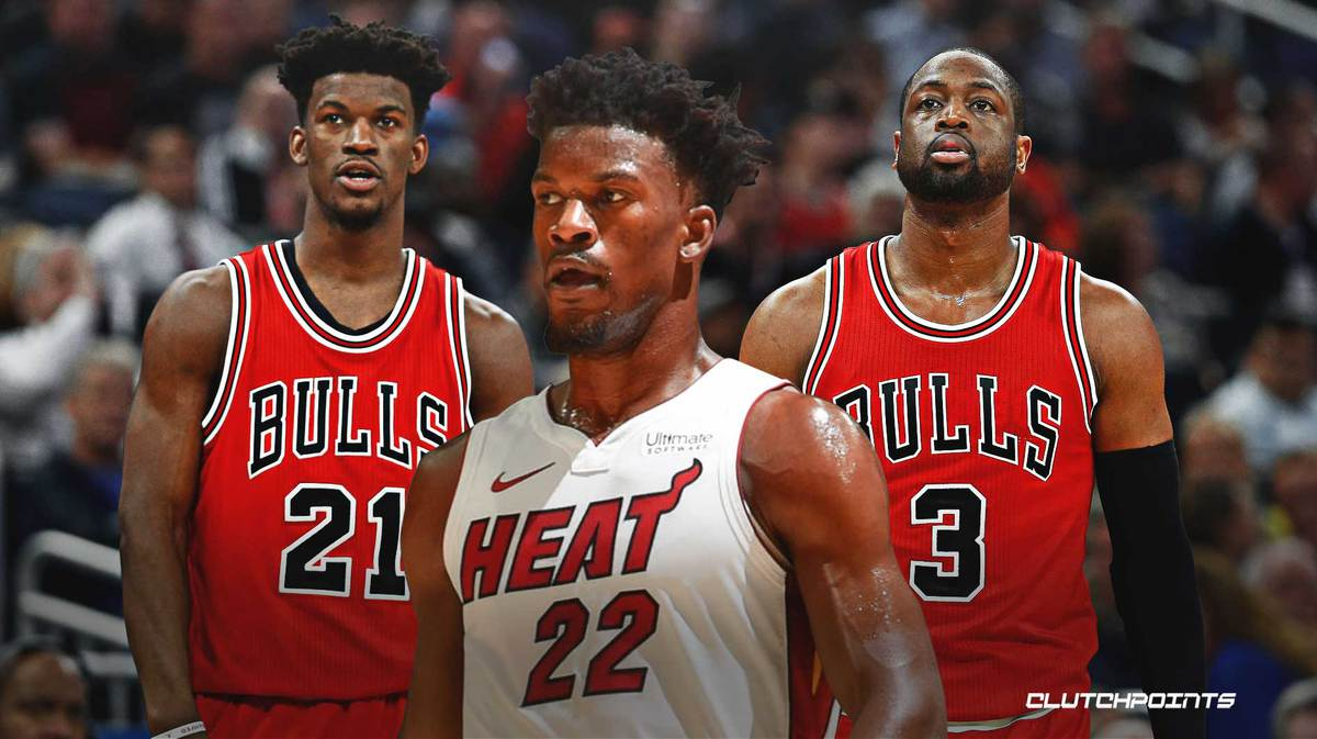 Heat News Dwyane Wade S Bulls Comment Drew Jimmy Butler To Miami
