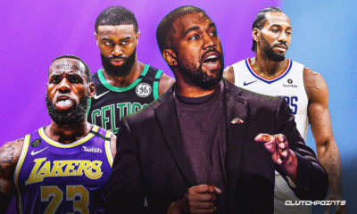 NBA, LeBron James, Jaylen Brown, Kanye West, Kawhi Leonard