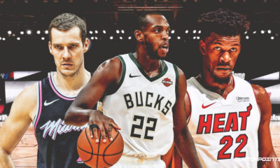 Heat, Bucks, Khris Middleton, Jimmy Butler, Goran Dragic