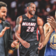 Stephen Curry, Klay Thompson, Andre Iguodala