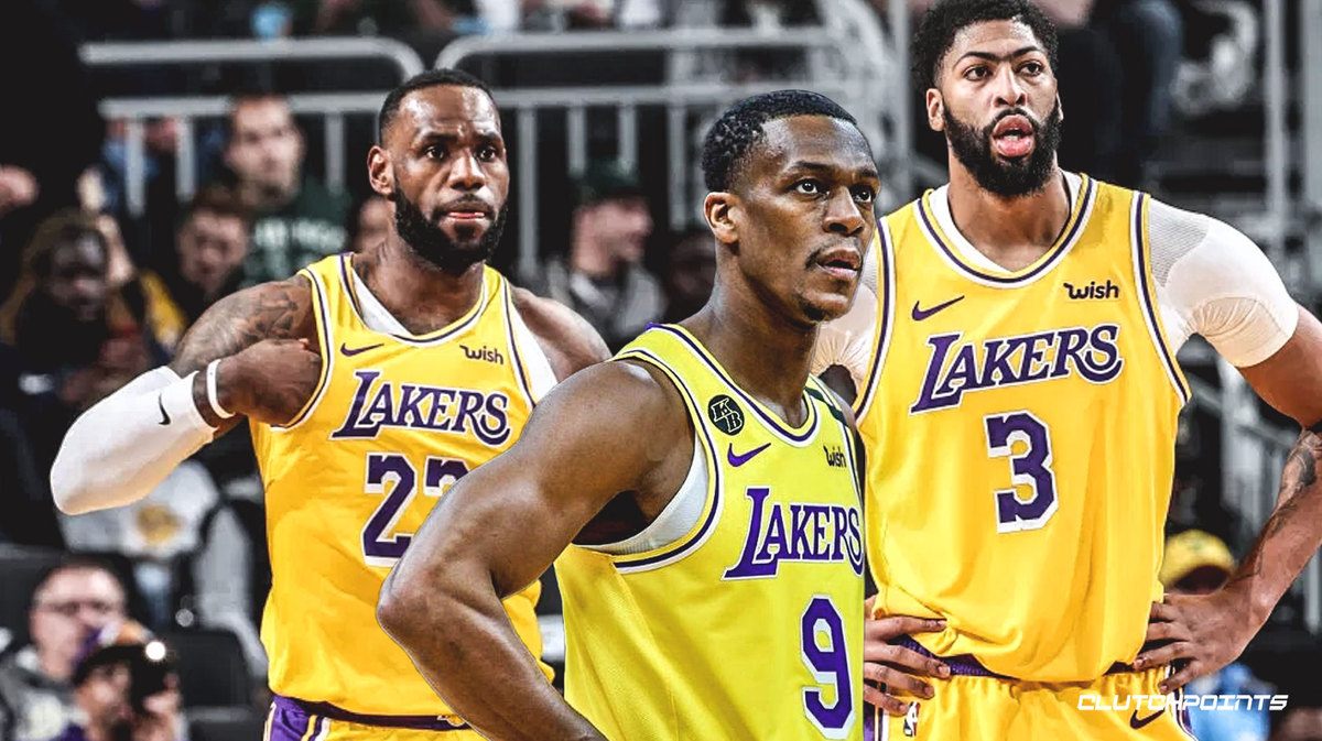 Lakers, Rajon Rondo, Anthony Davis, LeBron James