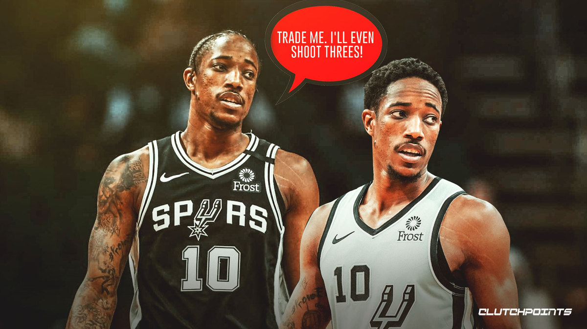 4 ideal trade destinations for DeMar DeRozan after anonymous agent claims he wants to leave Spurs