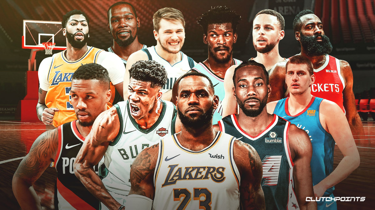 NBA: Ranking the league's top 25 Players going into 2021