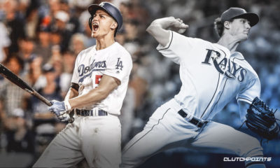Corey Seager, Tyler Glasnow, Dodgers, Rays, World Series