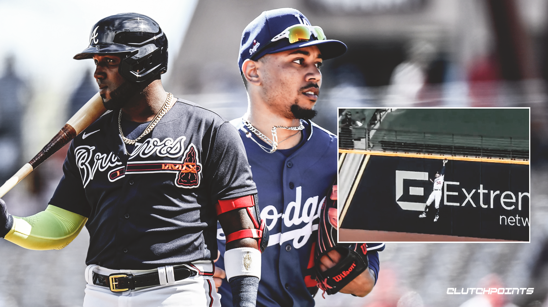 Mookie Betts, Dodgers, Braves, NLCS