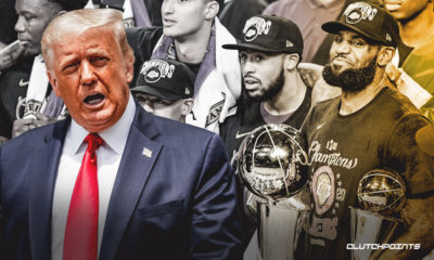 Donald Trump, LeBron James, Lakers