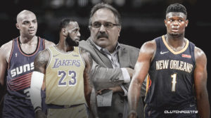 LeBron James, Zion Williamson, Stan Van Gundy, Charles Barkley, Pelicans