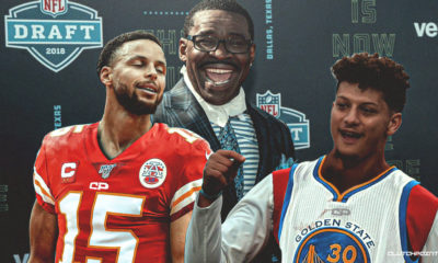 Patrick Mahomes, Stephen Curry, Chiefs, Michael Irvin
