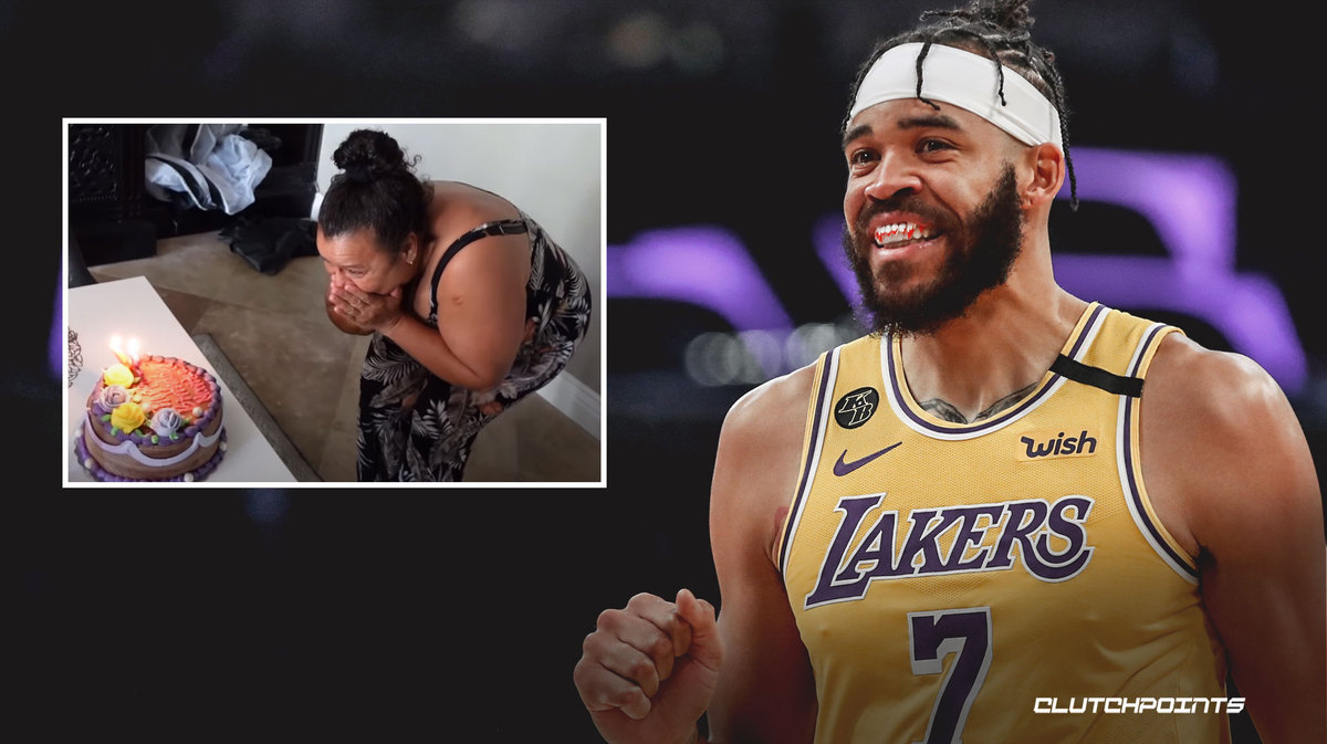 Javale McGee Lakers housekeeper
