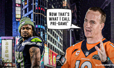 Marshawn Lynch, Peyton Manning, Seahawks