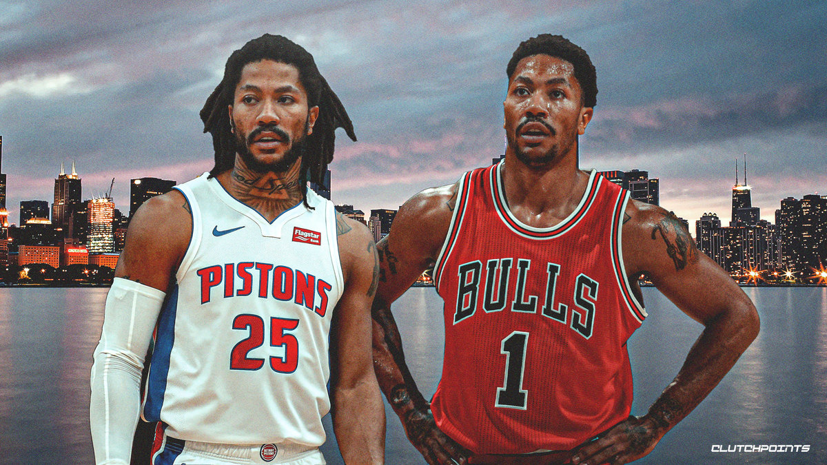 Pistons News Derrick Rose Goes Emotional In Nsfw Shoutout For Chicago