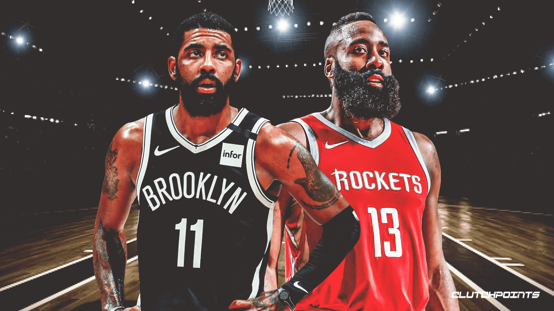 James Harden, Kyrie Irving