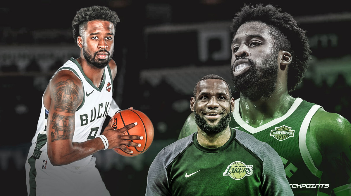 Wesley Matthews, LeBron James, Bucks