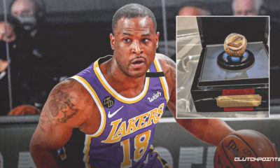 Dion Waiters, Lakers championship ring