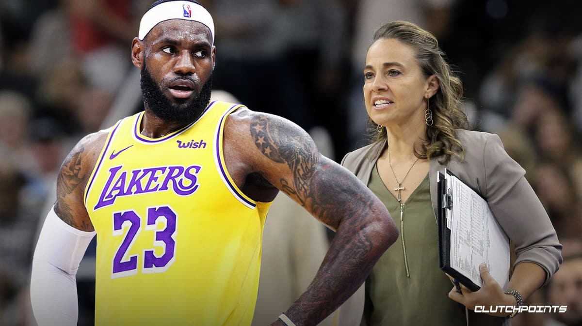 Becky Hammon, LeBron James, Lakers, Spurs