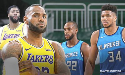 Bucks, Khris Middleton, Giannis Antetokounmpo, Lakers, LeBron James, Anthony Davis
