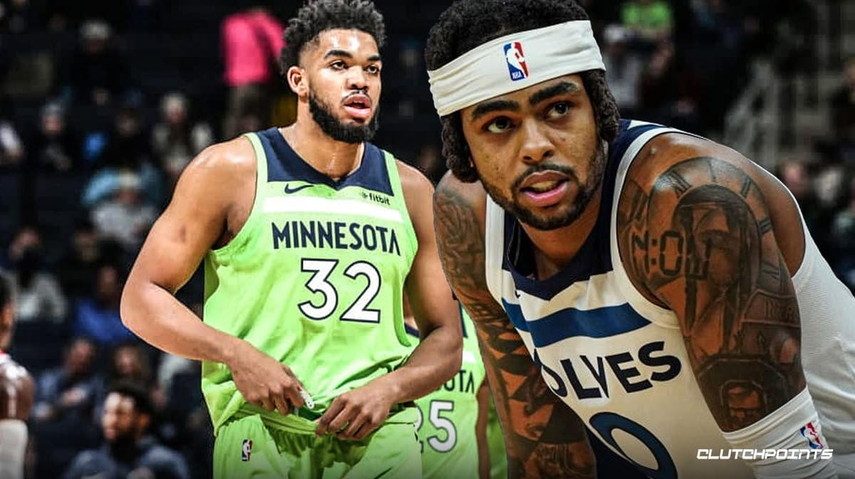 D'Angelo Russell Timberwolves