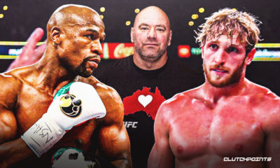 Dana White, Floyd Mayweather, Logan Paul