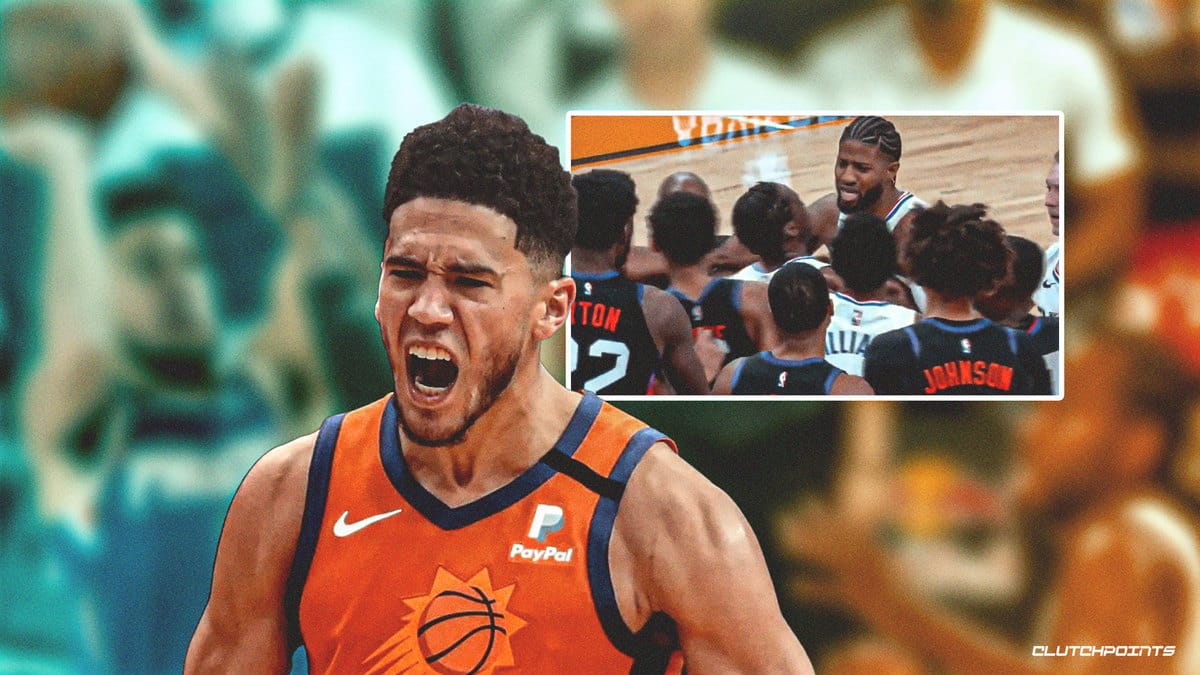 Devin Booker Paul George Suns Clippers