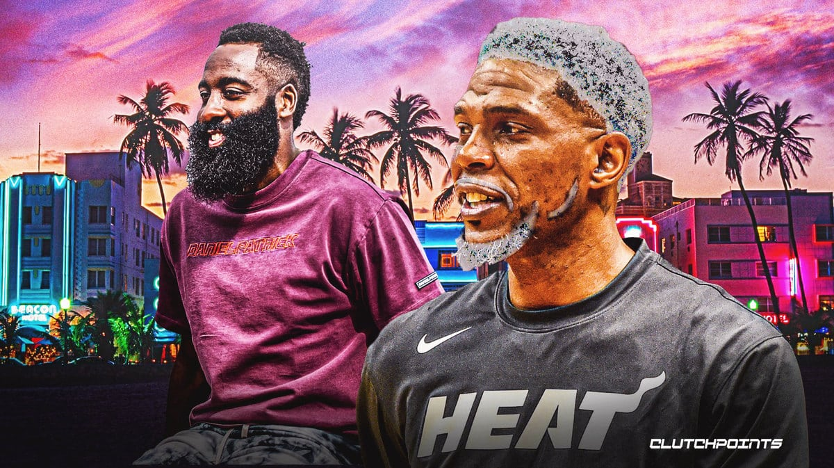 Udonis Haslem, James Harden, Heat trade