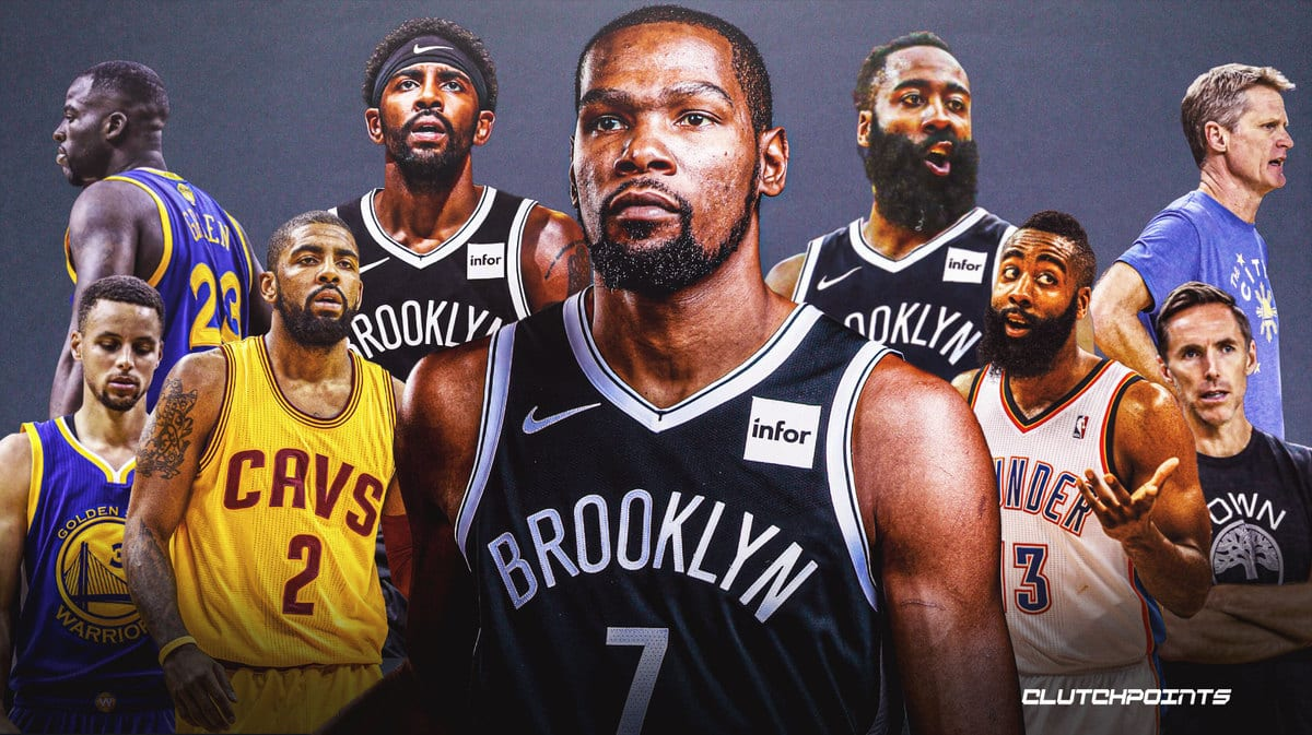 Kevin Durant, Warriors, Nets