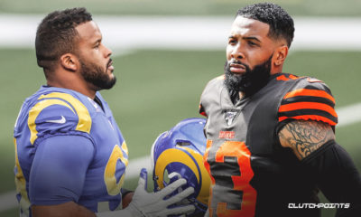 aaron donald, odell beckham jr., browns, rams
