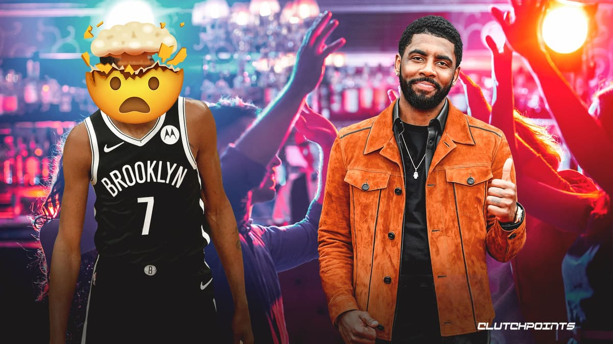 Kyrie Irving allegedly was at party, said to be 'off the grid'