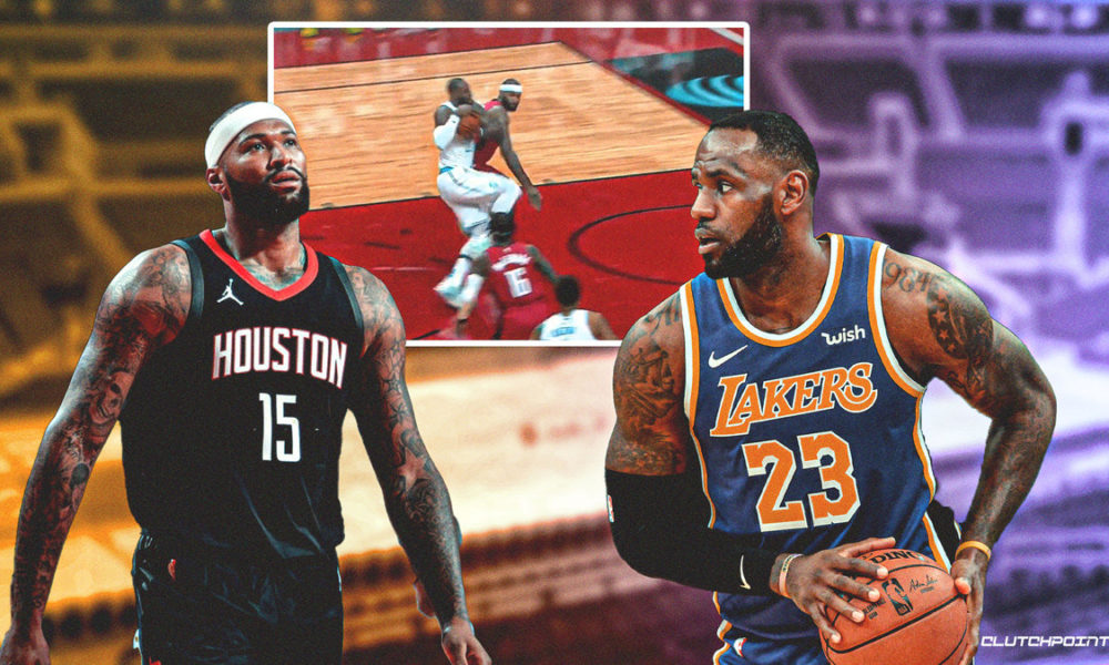 Rockets news: DeMarcus Cousins ejected vs Lakers after ...