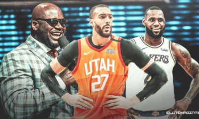 Rudy Gobert, Jazz, LeBron James, Shaq