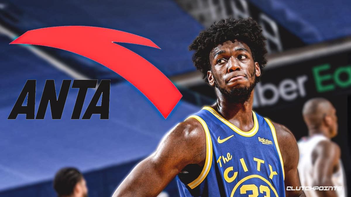Warriors, James Wiseman, Anta