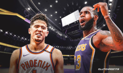 LeBron James, Devin Booker, Lakers, Suns