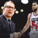 Nick Nurse Fred VanVleet Raptors