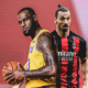 LeBron James Zlatan Ibrahimovic Lakers