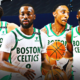Kemba Walker Jayson Tatum Jaylen Brown Jeff Teague Celtics
