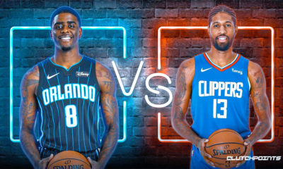 Magic, Dwayne Bacon, Clippers, Paul George