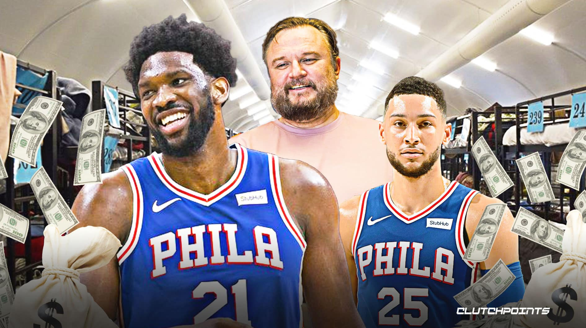 Sixers follow Joel Embiid's lead, donate $100,000 to same homeless groups
