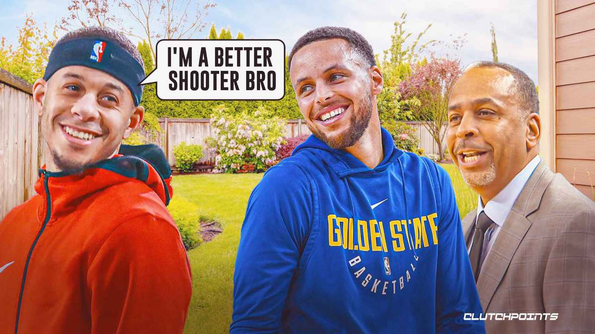 Warriors, Dell Curry, Stephen Curry, Seth Curry