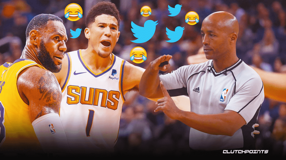 Devin Booker ejection Suns Lakers memes