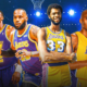 LeBron James Kareem Adbul-Jabbar Lakers All-Time Record