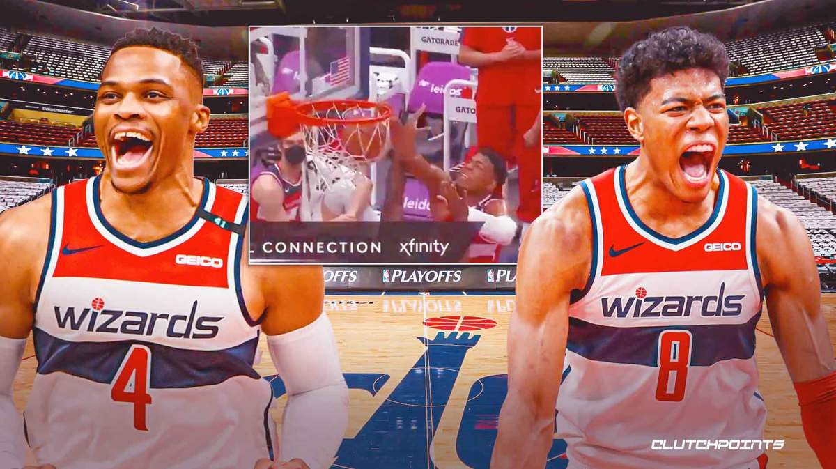 russell westbrook, rui hachimura, wizards