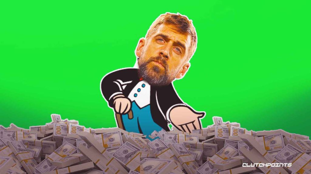 Aaron Rodgers' net worth in 2021, Aaron Rodgers Packers