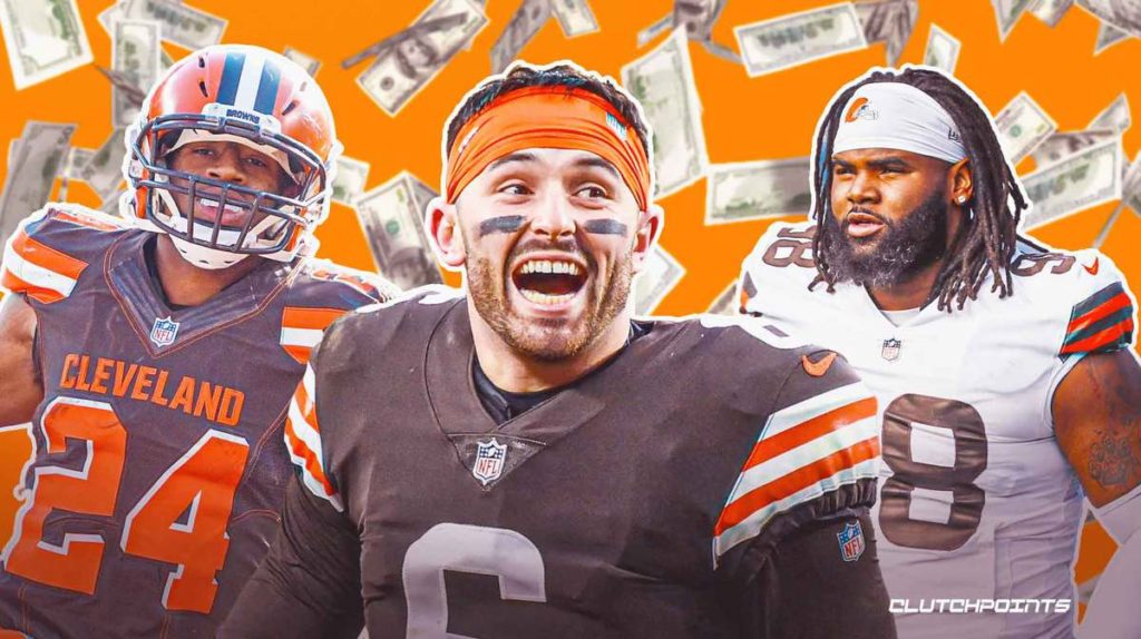 Baker Mayfield's net worth in 2021, Baker Mayfield, Browns