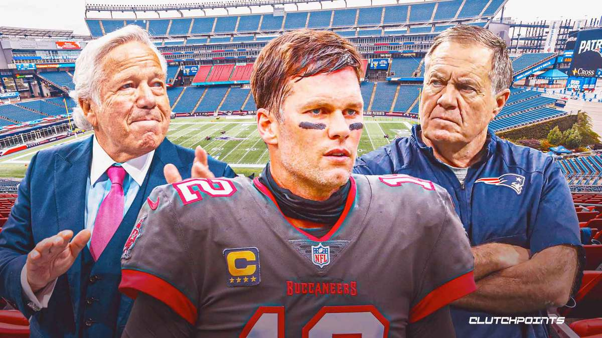 Tom Brady, Patriots, Buccaneers, Robert Kraft, Bill Belichick