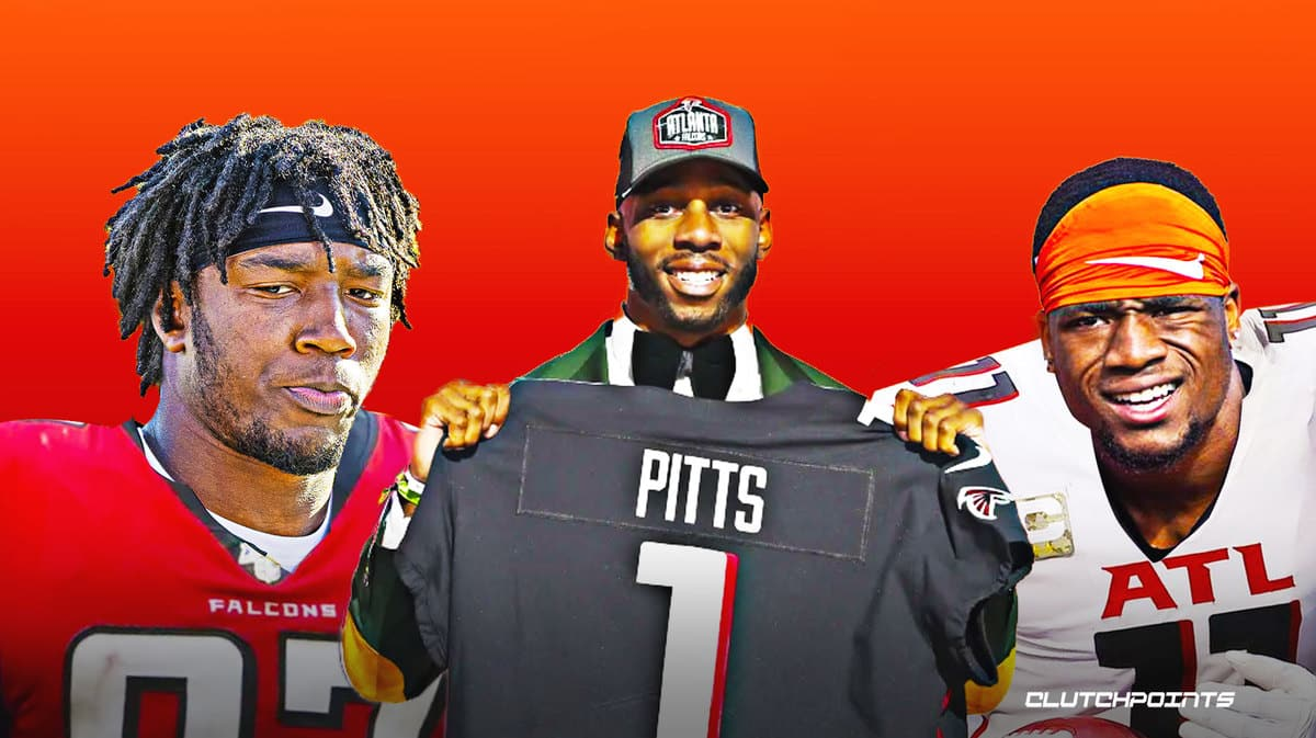 Falcons, Kyle Pitts, 2021 NFL Draft