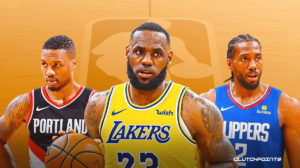 LeBron James, Lakers, Clippers, Blazers