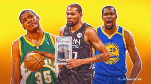 Kevin Durant NBA basketball rookie cards nets thunder